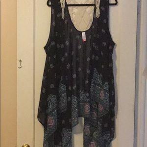 L/XL Swimsuit cover up/ vest